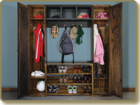 Wood Locker Cabinets, Locker Shelf, Shoe Rack