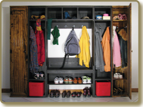 Lockers, Locker Cabinets, Locker Shelf, Modular Bench with Shelf