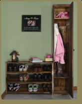 Locker Cabinet & Shoe Rack