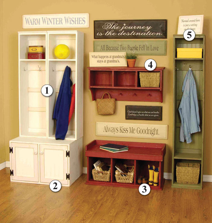 Entryway storage locker bench simple home decoration Hallway lockers for home