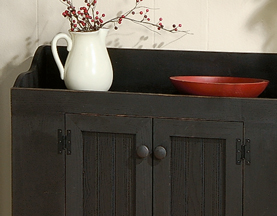 Solid Wood Pine Dry Sink Cabinet Furniture