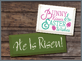 Wooden Easter Signs With Sayings